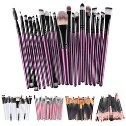 20 Pieces Professional Makeup Brushes