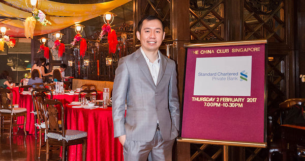 Feng Shui Talk & Seminar for Standard Chartered at The China Club Singapore
