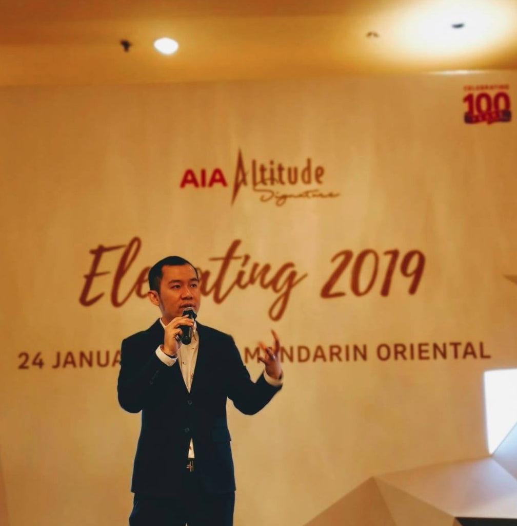 Feng Shui Talk for AIA Altitude 100 years Anniversary by Master Kevin Foong