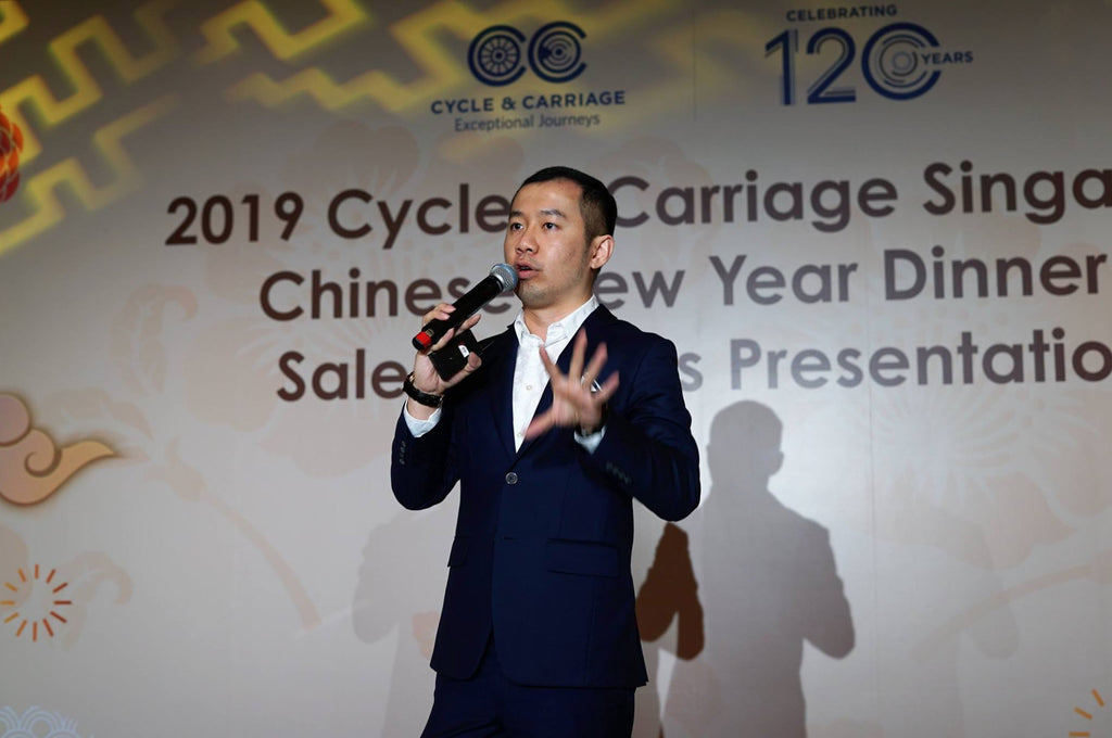 Feng Shui Talk & Seminar for Cycle & Carriage 120 years anniversary by Master Kevin Foong
