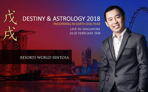 destiny and astrology 2018 Singapore resorts world sentosa 24 february 2018