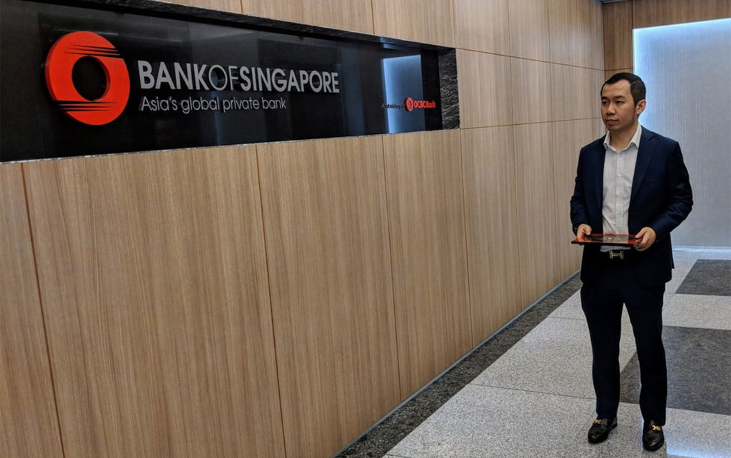 Feng shui master featured Bank of Singapore