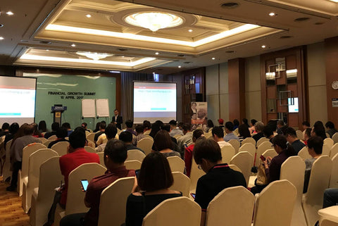 Feng shui seminar at Kuching Financial Growth Summit