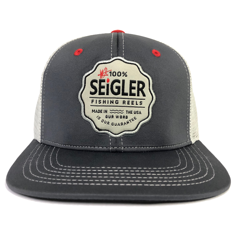 Seigler apparel which includes hats, t-shirts, and long sleeve shirts.