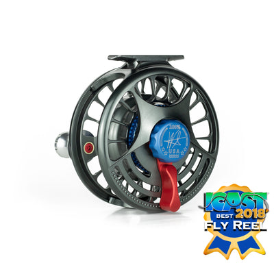 lever drag of the seigler MF saltwater fly reel