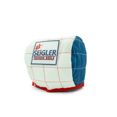 Conventional fishing reel cover by seigler fishing reels.