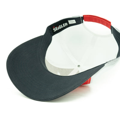 SEiGLER Trucker Hat - Red, White, & Blue