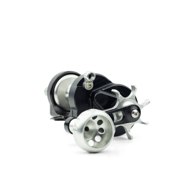 Seigler's Star Mag fishing reel for surf casting.