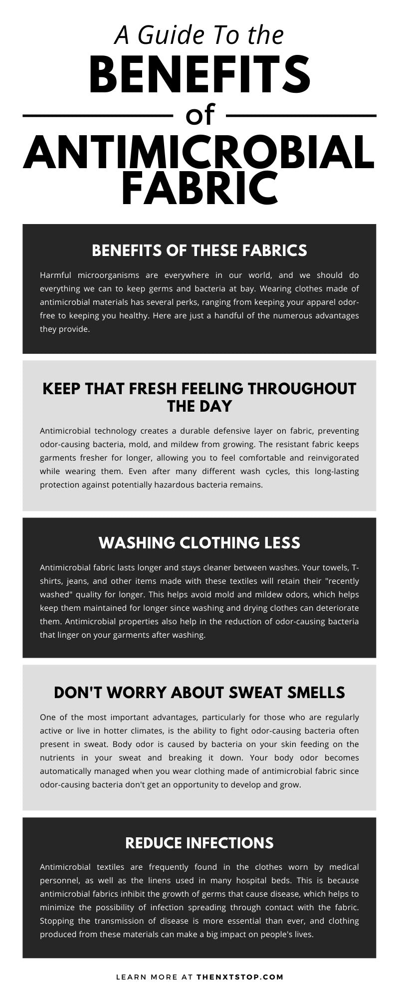 A Guide To the Benefits of Antimicrobial Fabric