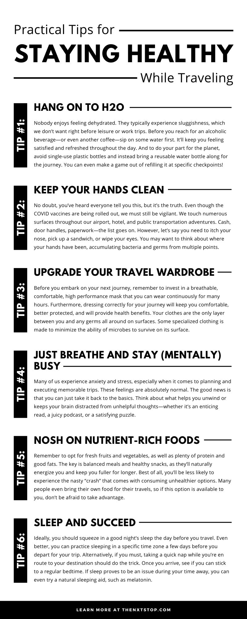 Practical Tips for Staying Healthy While Traveling