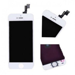 Apple iPhone 5S LCD Screen and Digitizer Assembly with Frame - White