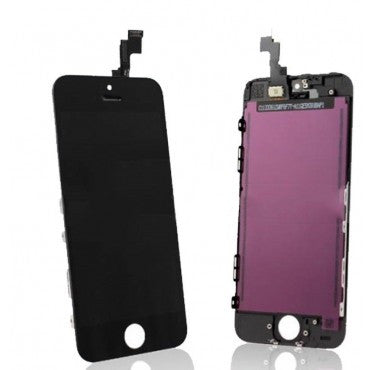 Apple iPhone 5S LCD Screen and Digitizer Assembly with Frame - Black