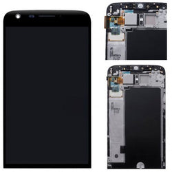LCD with Digitizer Assembly for LG G5 Frame - Black