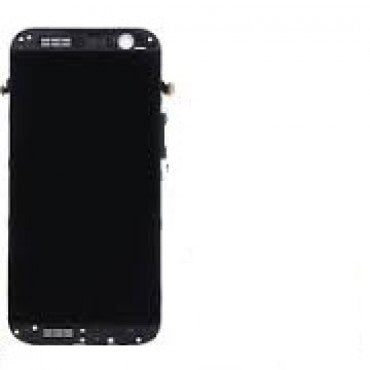 HTC One M8 LCD Screen and Digitizer Assembly with Front Housing - Gray