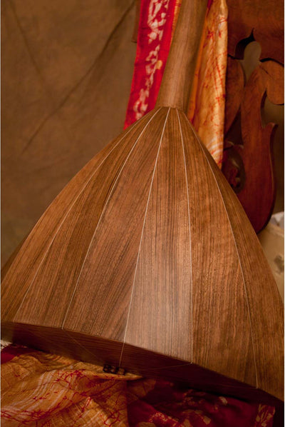 Roosebeck Deluxe Prima Balalaika Walnut Stave Body