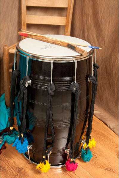 banjira Dhol with Synthetic Heads 14 x 25 inches