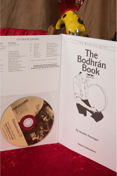 Hal Leonard The Bodhran Book and CD by Steafan Hannigan