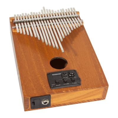 Kevin Spears Pro Kalimba 23-Key with EQ - Red Cedar - Natural Finish - Kalimba - KLKSL