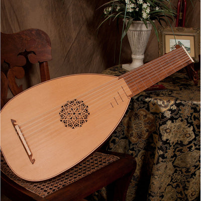 Roosebeck Deluxe 8-Course Lute Sheesham and Canadian Cedar
