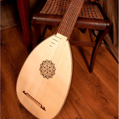 Roosebeck Deluxe 8-Course Lute Sheesham - Lefty