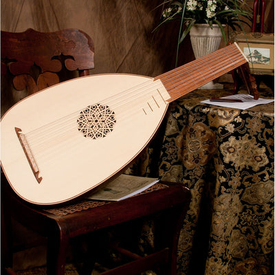 Roosebeck Deluxe 8-Course Lute Sheesham and Canadian Spruce