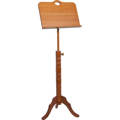 Roosebeck Single Tray Colonial Red Cedar Music Stand - Blemished - Music Stand - MSRBCSRC-2