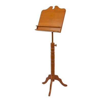 Roosebeck Double Shelf Boston Music Stand - Red Cedar - Music Stand - MSRCBBE