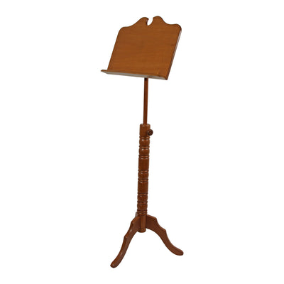 Roosebeck Single Tray Boston Music Stand - Red Cedar - Music Stand - MSRCBBS