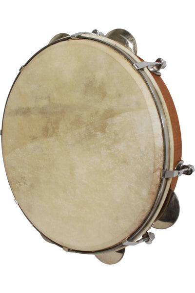 Mid-East Tunable Pandeiro 10-Inch - Red Cedar - Panderio - PANRC10