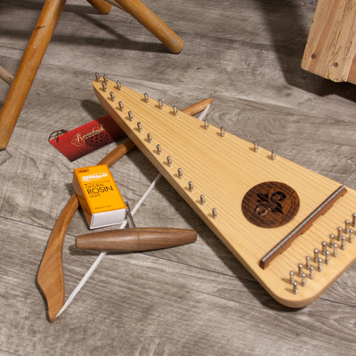 Roosebeck Soprano Rounded Psaltery Left-Handed - Blemished