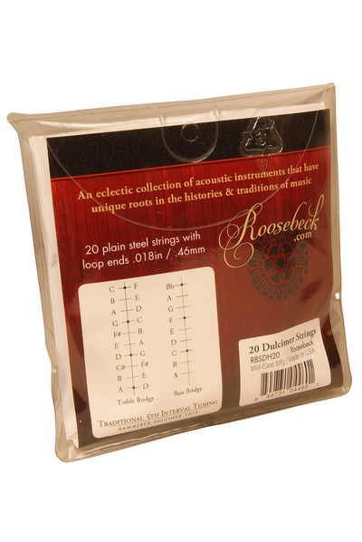 Roosebeck Hammered Dulcimer String Set 20-Strings