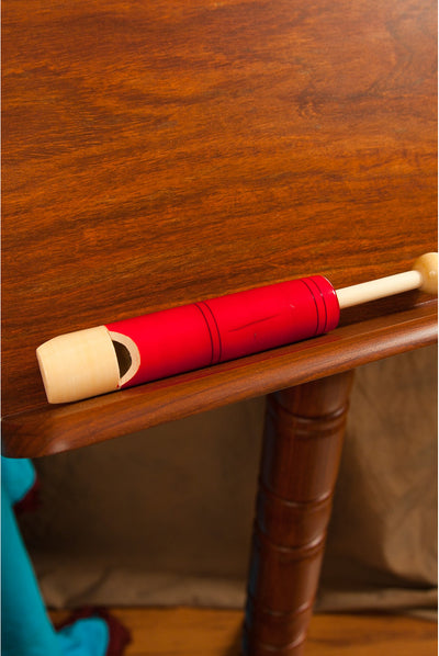 DOBANI Small Slide Whistle – 5.75 inches – Red