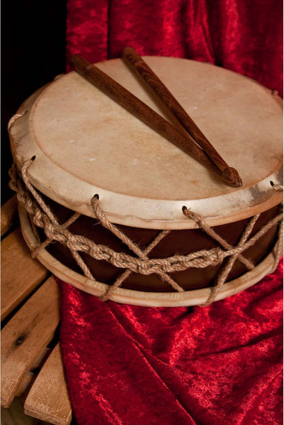 EMS Tabor Drum with Sticks 9 inches