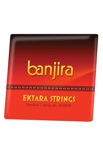 banjira Ektara 2-String Set Loop Ends - Ektara Accessories - BJSEKTR