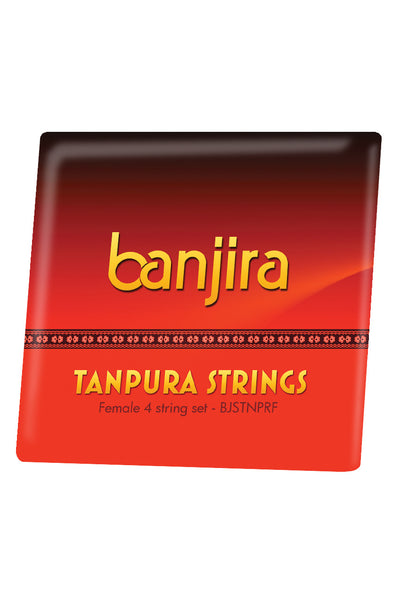 banjira Female Tanpura String Set - Tanpura Accessories - BJSTNPRF