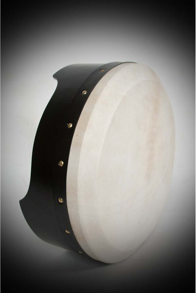 Roosebeck Tunable Ply Bodhran – 14 x 5 inches – Black
