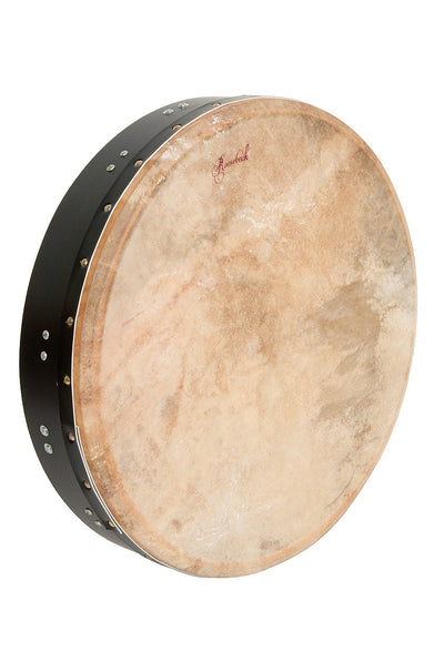 "Roosebeck Tunable Mulberry Bodhran T-Bar 18"" x 3.5"" - Black - Inside Tunable Bodhrans - BTN8BT"