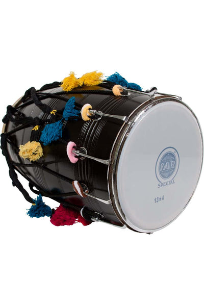 "banjira Dhol with Synthetic and Goatskin Heads 14"" x 25"" - Dhols - DHOS"