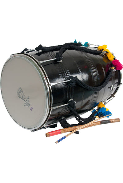 "banjira Dhol with Synthetic Heads 14"" x 25"" - Dhols - DHOT"