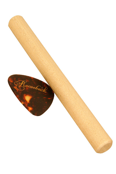Roosebeck Whitewood Noter and Pick for Mountain Dulcimer - Mountain Dulcimer Accessories - DMHG-PS