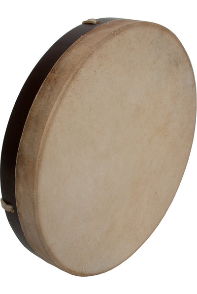 "DOBANI Pretuned Goatskin Head Wood Frame Drum with Beater 12"" x 2"" - Frame Drums - FD12"