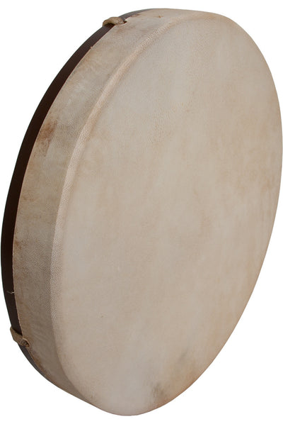 "DOBANI Pretuned Goatskin Head Wood Frame Drum with Beater 14"" x 2"" - Frame Drums - FD14"