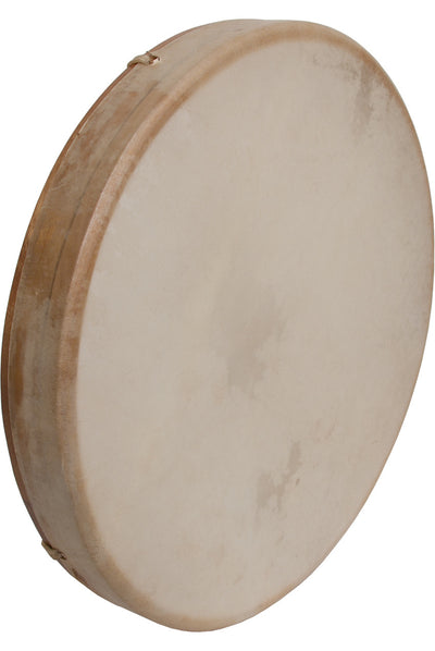 "DOBANI Tunable Goatskin Head Wooden Frame Drum with Beater 16"" x 2"" - Frame Drums - FD16T"
