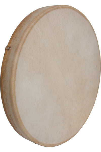 "DOBANI Tunable Goatskin Head Wooden Frame Drum with Beater 18"" x 2"" - Frame Drums - FD18T"
