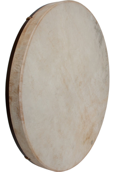 "DOBANI Pretuned Goatskin Head Wood Frame Drum with Beater 22"" x 2"" - Frame Drums - FD22"