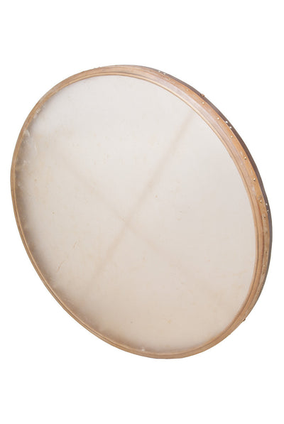 "DOBANI Tunable Goatskin Head Wooden Frame Drum with Beater 38"" x 2.25"" - Frame Drums - FD38T"