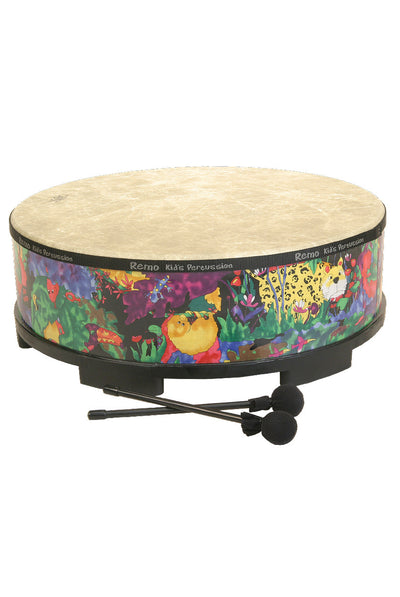"Remo Kids Percussion Gathering Drum 22"" x 8"" - Rain Forest - KIDS PERCUSSION by Remo - KD-5822-01"