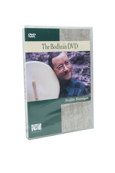 Hal Leonard The Bodhran DVD by Steafan Hannigan - Bodhran Instruction - LBSH
