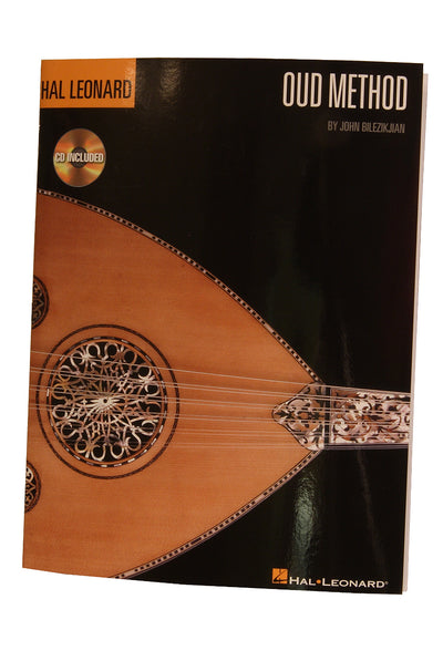 Hal Leonard Oud Method book and CD by J Bilezikjian - Oud Instruction - LOJB