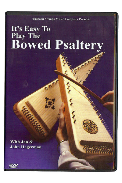 It's Easy To Play The Bowed Psaltery DVD - Psaltery Instruction - LPSD